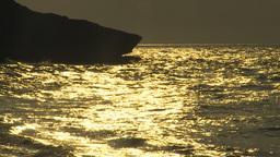 HD2009-4-6-47 Cuba beach sunset Stock Video Footage