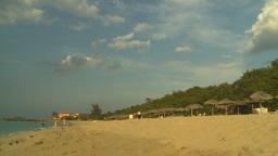 HD2009-4-6-51 Cuba beach sunset Stock Video Footage