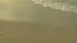 HD2009-4-6-59 Cuba beach sunset woman on beach Stock Video Footage