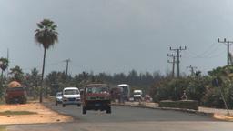 HD2009-4-7-13 Cuba highway Stock Video Footage