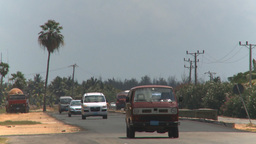 HD2009-4-7-13 Cuba highway Stock Video Footage