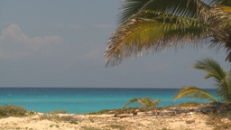 HD2009-4-7-21 Cuba beach Stock Video Footage