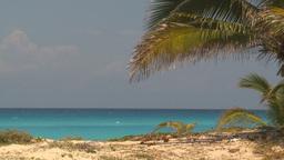 HD2009-4-7-21 Cuba beach Stock Video Footage