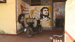 HD2009-4-7-29 Cuba che g propganda Footage