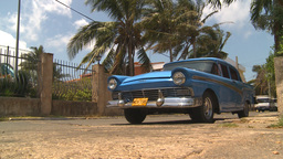 HD2009-4-7-33 Cuba old car Stock Video Footage