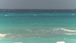 HD2009-4-7-39 Cuba ocean surf Footage