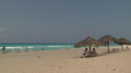 HD2009-4-7-41 Cuba beach Stock Video Footage