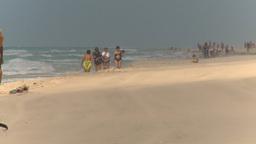 HD2009-4-7-43 Cuba windy beach Stock Video Footage