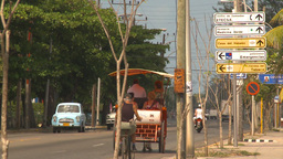 HD2009-4-7-48 Cuba sm town road Footage