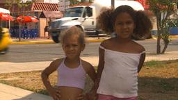 HD2009-4-7-56 Cuba children Stock Video Footage