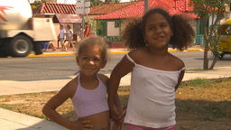 HD2009-4-7-56 Cuba children Stock Video Footage