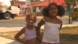 HD2009-4-7-56 Cuba children Footage