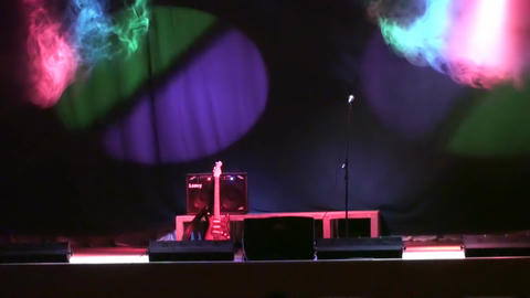 SMOKE AND CONCERT STAGE LIGHTS 2 Footage