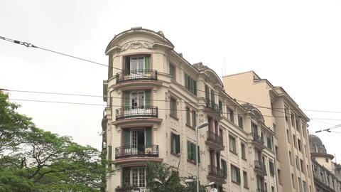 106 Sao Paulo , colonial buildings Stock Video Footage