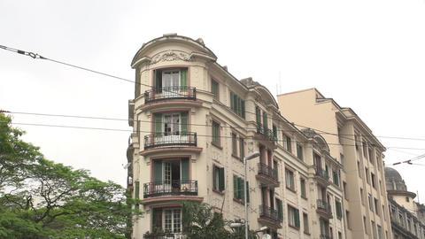 106 Sao Paulo , colonial buildings Stock Video Footage