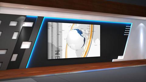 TV Studio 102a stock footage