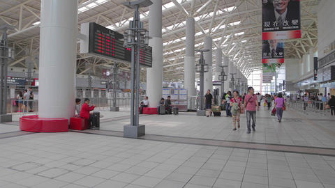 Dolly Shot - Formosa Station Dome Of Light - Ceili stock footage