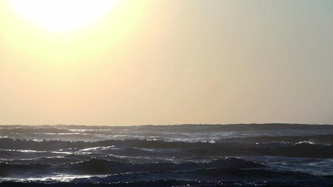 039 Laguna , Sunrise at the beach in slowmotion Footage