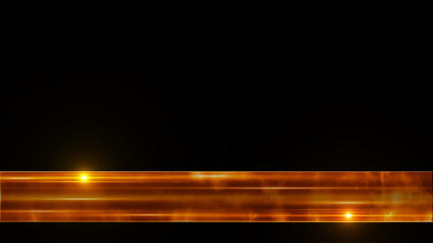 Orange Glass Line Lower Third stock footage