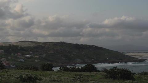 085 Laguna , Santa Marta village , panshot Stock Video Footage
