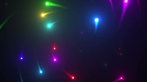 Glow particles 2 R 1 R 1 4 K Stock Video Footage