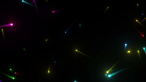 Glow particles 2 S 1 R 1 4 K Stock Video Footage