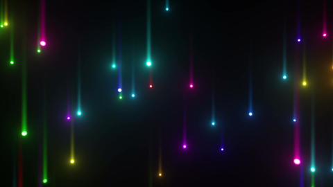 Glow particles 2 U 1 R 2 4 K Stock Video Footage