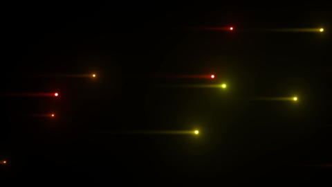 Glow particles 2 Y 1 G 1 4 K Stock Video Footage