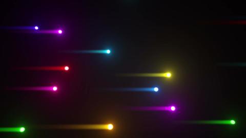 Glow particles 2 Y 1 R 3 4 K 動画素材, ムービー映像素材