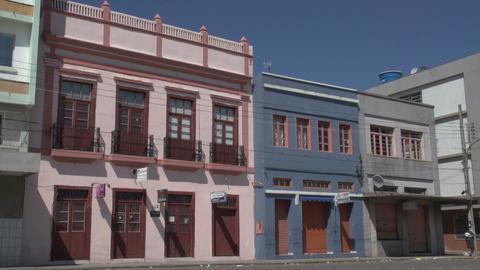 0146 Laguna , Colonial buildings , blue sky Footage