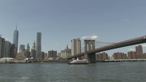 Manhattan and Brooklyn Bridge Footage