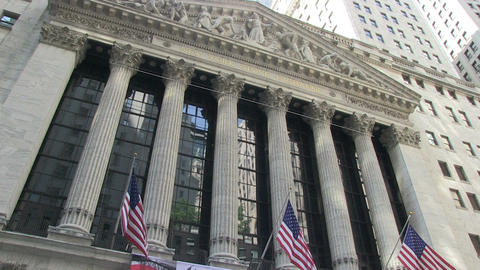 The New York Stock Exchange Footage