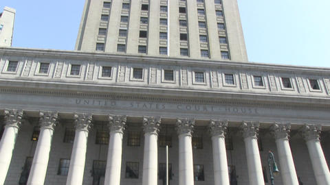 US Courthouse in New York Footage
