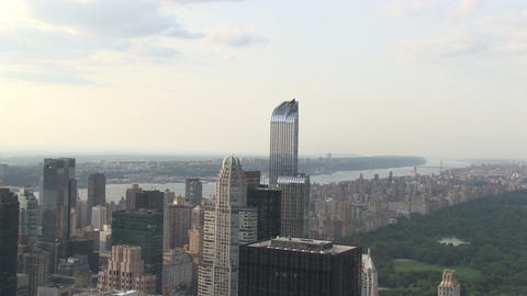 Upper East Side And New Jersey stock footage