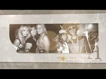 Nostalgic Photos Show stock footage