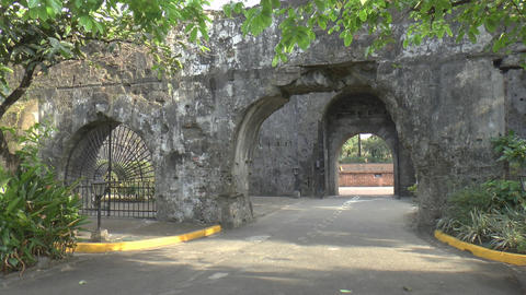 fort santiago wall Footage
