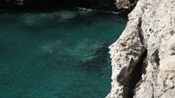 Apulia South Italy Beautiful Sea Landscape Italy stock footage