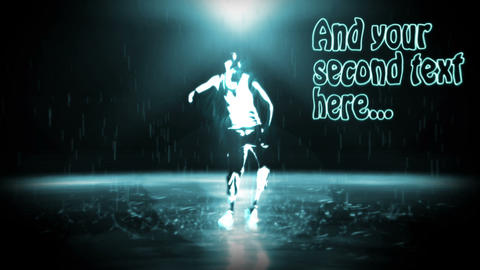 Urban Rain Dance Sequence After Effects Template