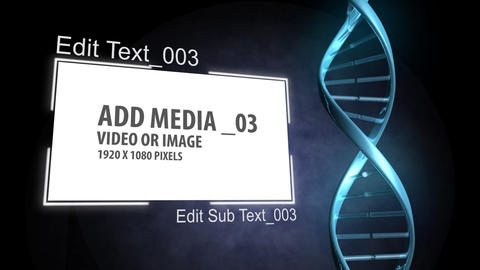 DNA Concept Project After Effects Template