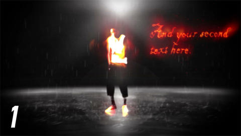 Fire & Rain Dance Sequence (2 Projects) After Effects Template