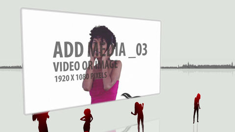 Urban Dance billboard After Effects Template