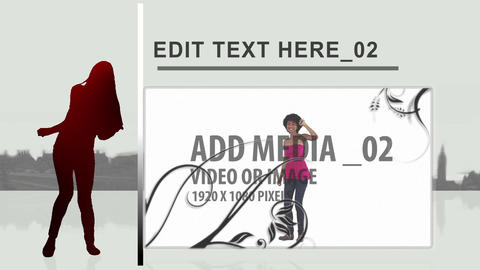 Urban Dancer After Effects Template