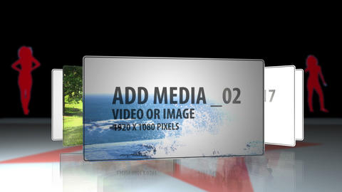 Circular Slideshow After Effects Template