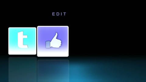 Social Media Icons After Effects Template