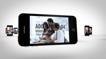 Smart phone Loop After Effects Template