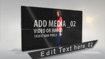 Folding media After Effects Template
