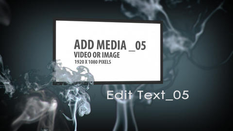 Smoke Effects project After Effects Template