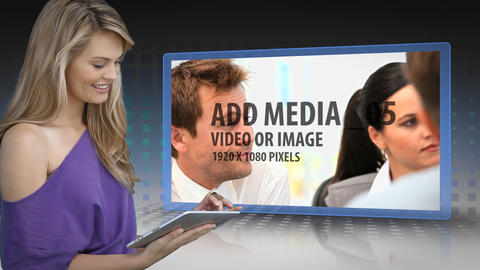 Presenting Media After Effects Template