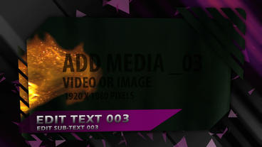 Action Graphic Sequence After Effects Template