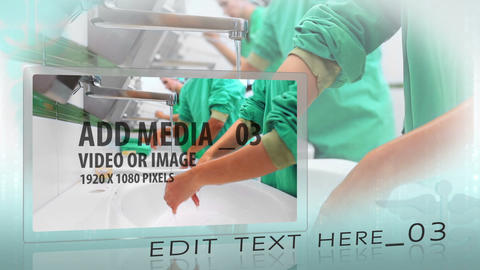 Clean Medical Display After Effects Template